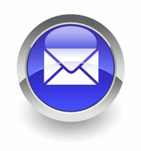 E-mail glossy icon