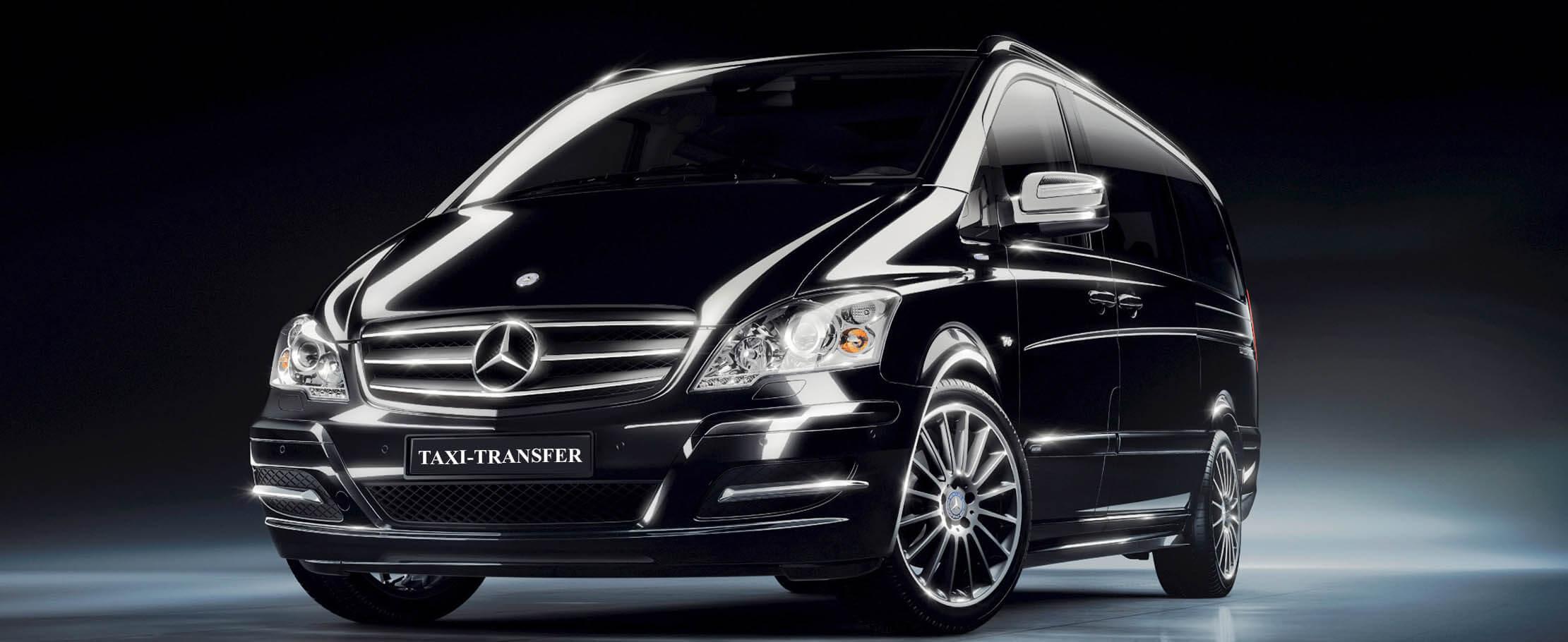 Flotta Mercedes Taxi Transfer